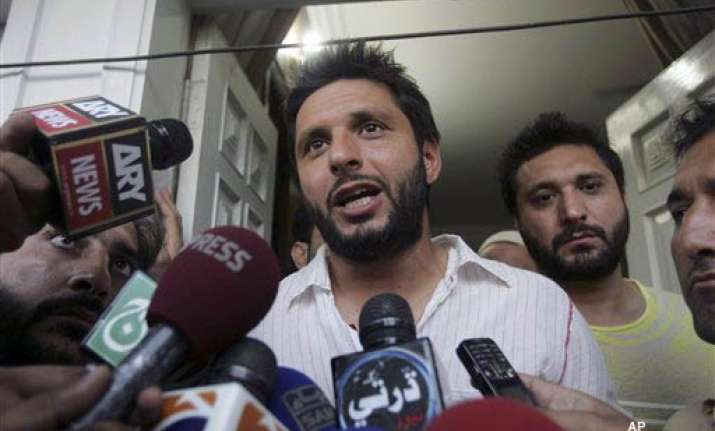i have been quoted out of context afridi
