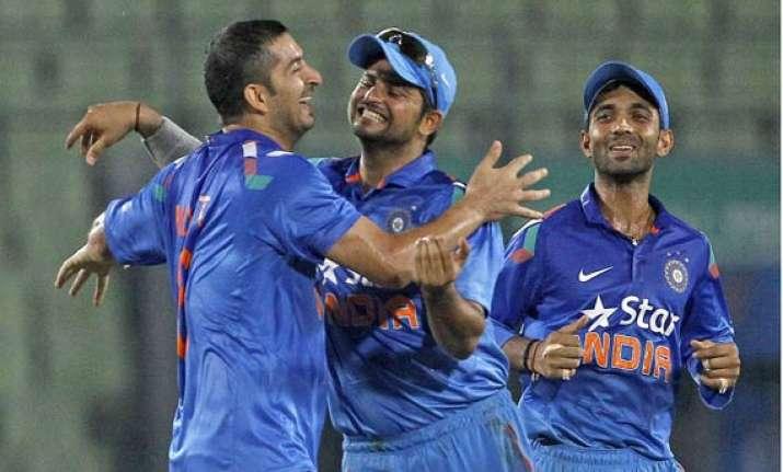 ind vs ban upbeat india eye bangla whitewash after series
