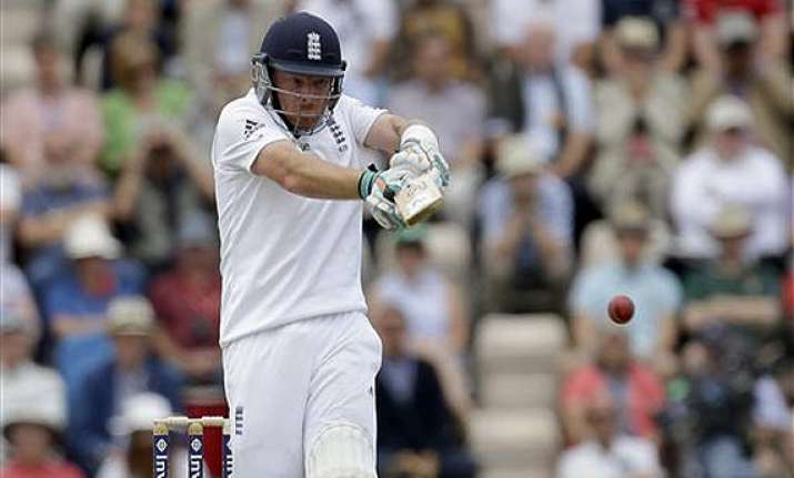 ind vs eng bell strikes 21st ton as england reach 452 for