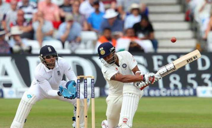 ind vs eng binny s 78 saves first test for india