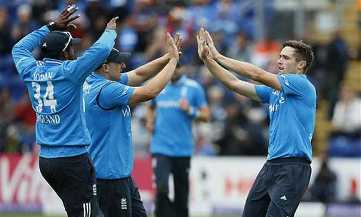 ind vs eng england fined for slow over rate in cardiff odi