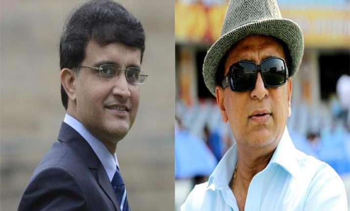 ind vs eng gavaskar ganguly ask selectors to take tough