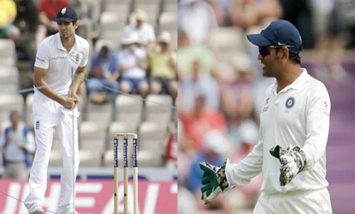 ind vs eng icc urges dhoni cook not to undermine judicial