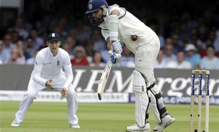 ind vs eng openers lose on green top india 73/2 at lunch