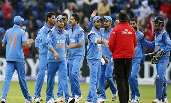ind vs eng raina ton helps india trounce england by 133