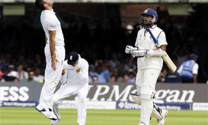 ind vs eng vijay misses ton as india stretch their lead to