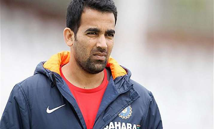 india aus odi zaheer khan may make a comeback