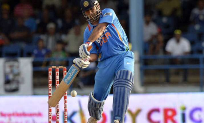 dhoni s helicopter grounded by faulkner austrailia wins by