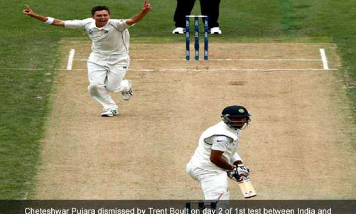 india new zealand scoreboard 1st test day 2