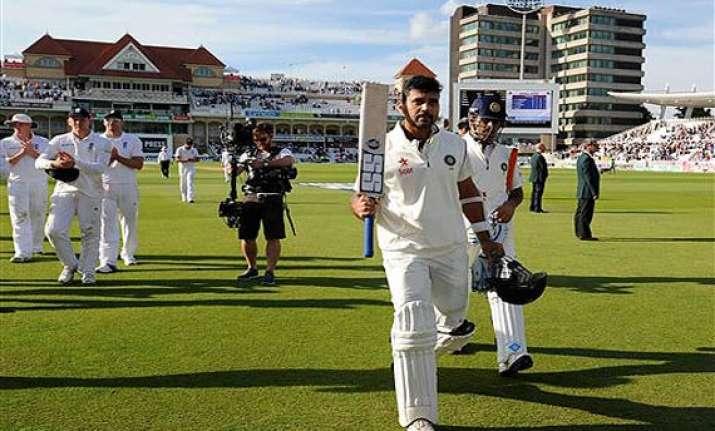 india vs england vijay dhoni take india to a comfortable