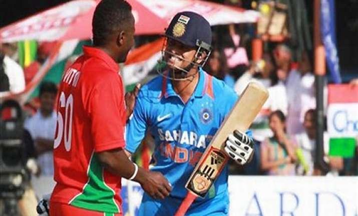 zimbabwe odi series india beat zimbabwe take 4 0 lead
