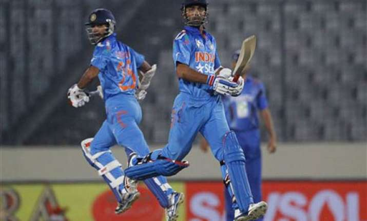 asia cup india beat afghanistan with bonus point in dead