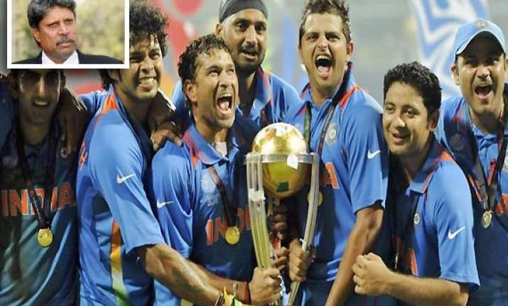 india has self belief to retain 2015 world cup title kapil