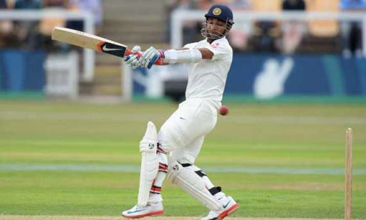 pujara binny hit fifties as indian batsmen enjoy outing