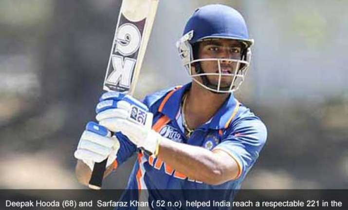 u 19 world cup defending champion india knocked out england