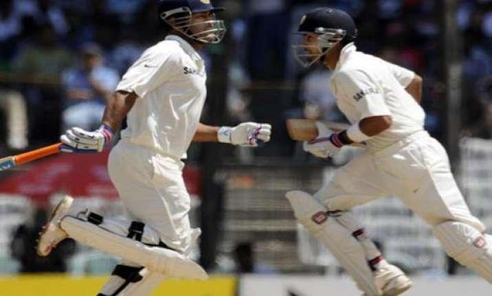 dhoni s double ton kohli s century put india on top