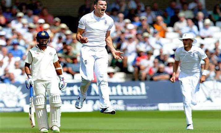 india vs england anderson says frustrating to have a placid