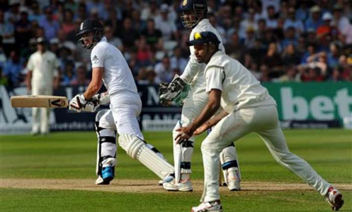 india vs england first test day 3 scoreboard at stumps