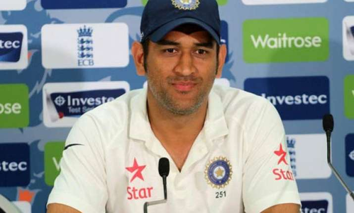 india vs england it was a good test match for us says dhoni