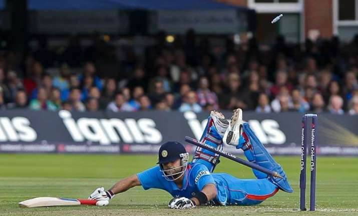 five comical run outs involving virat kohli watch videos