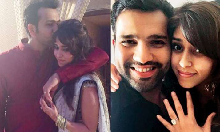 rohit sharma to marry best friend ritika sajdeh on december