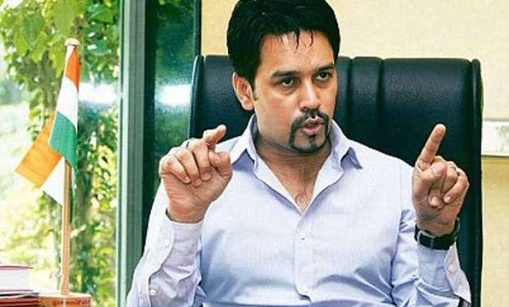 anurag thakur hints at srinivasan ouster from icc