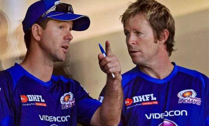 mumbai indians rope in ponting as head coach