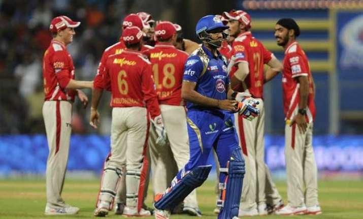 ipl 8 mumbai start as favourites against laggards kxip