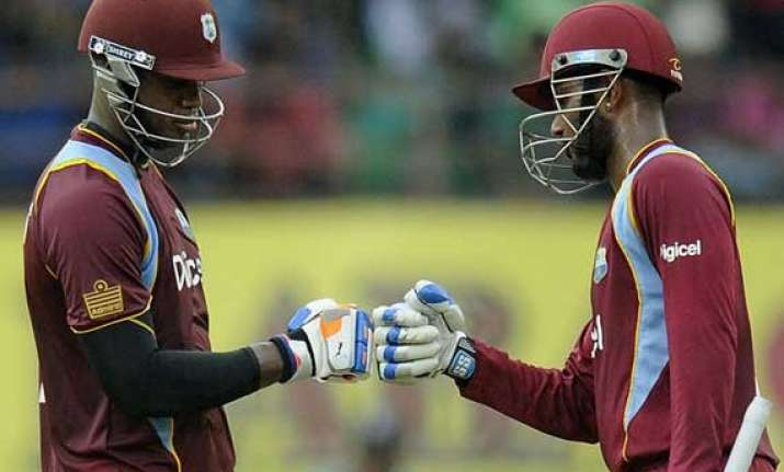 india vs west indies first odi scorecard