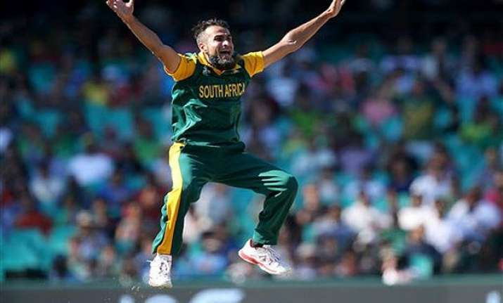 world cup 2015 time to pay back my country says imran tahir