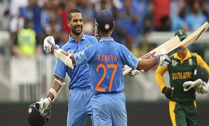 world cup 2015 shikhar dhawan lucky to be surrounded by