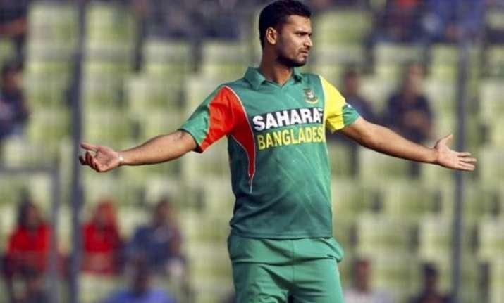 mashrafe to lead bangladesh in wc rookie soumya makes the