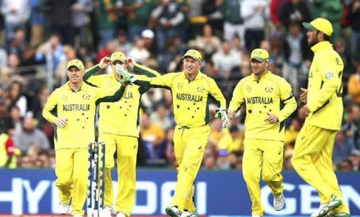 world cup 2015 australia register comfortable win to finish