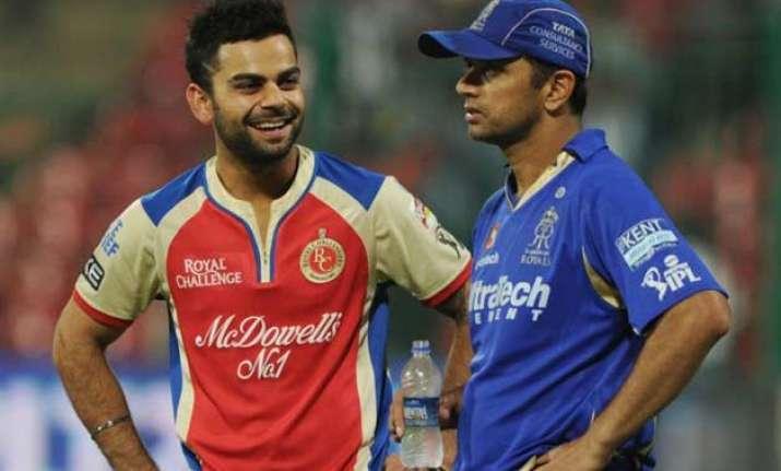 aggressive cricketers like kohli make it big rahul dravid