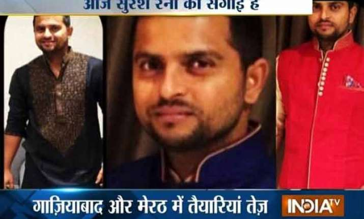 cricket star suresh raina to get engaged today