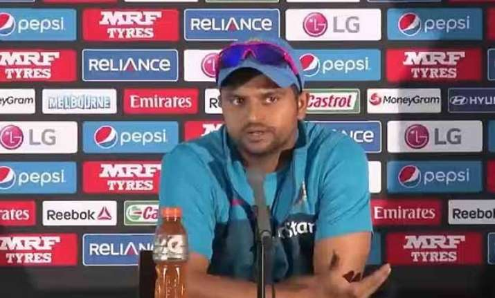 world cup 2015 not taking bangladesh lightly says suresh