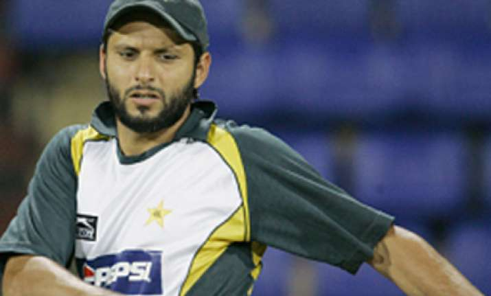 afridi appointed captain for t20 world cup