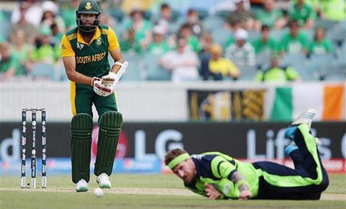 world cup 2015 hashim amla helps south africa to big total
