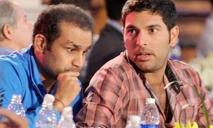 yuvraj will be back soon predicts sehwag