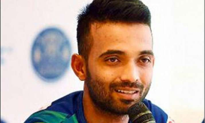 good to have competition in the team rahane