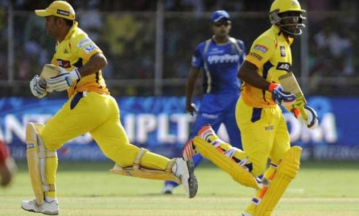 ipl 8 bravo lifts csk to 156/4 against rajasthan royals
