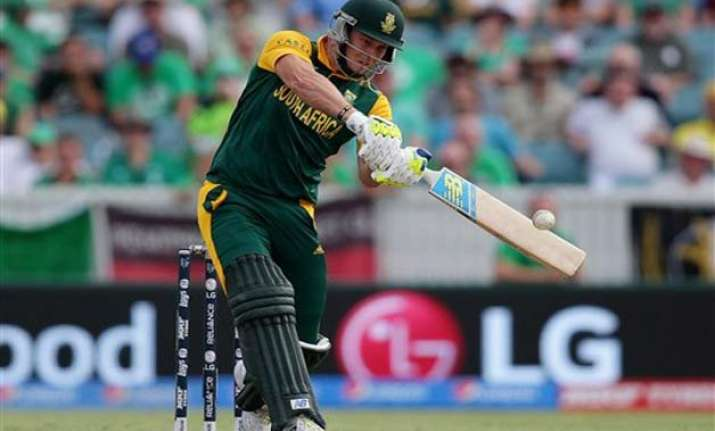 world cup 2015 uae wins toss sends south africa in to bat