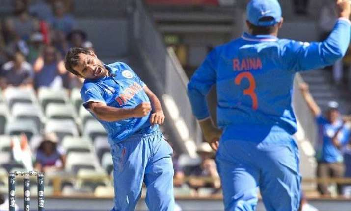 world cup 2015 dhoni credits bowlers in low scoring win