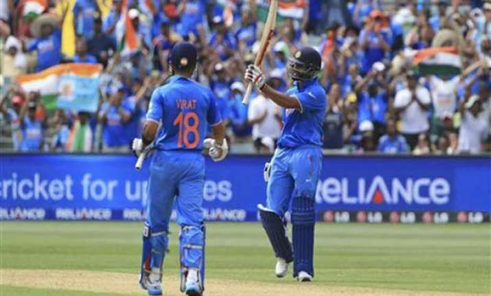 world cup 2015 india s top order batsmen need to fire