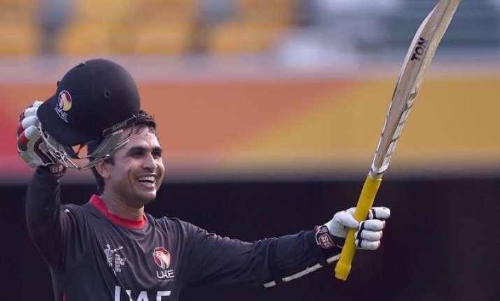 world cup 2015 shaiman anwar the latest batting sensation