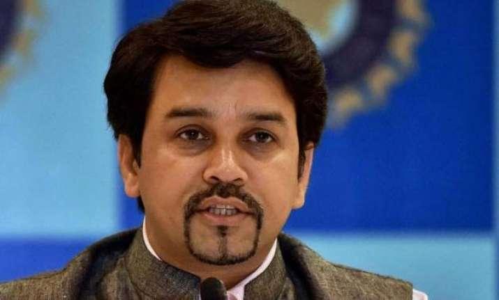 bcci ban on sreesanth to stay anurag thakur