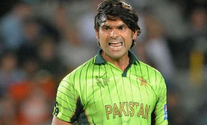world cup 2015 injured irfan ruled out of pakistan s squad