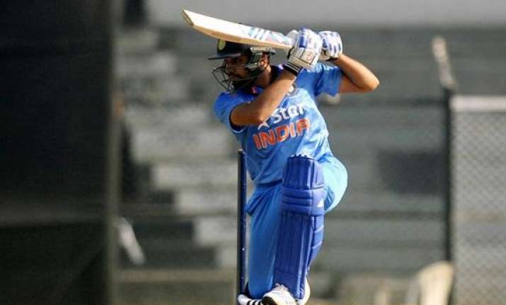 rohit showed he has completely recovered from injury bangar