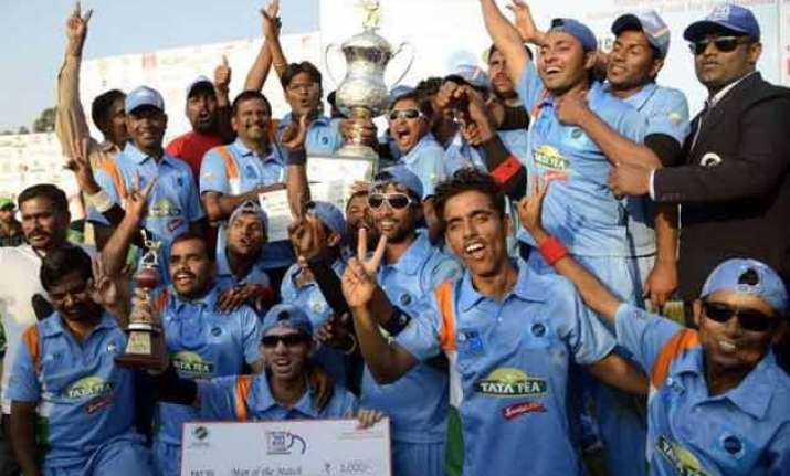 indian blind cricketers to tour england bahrain