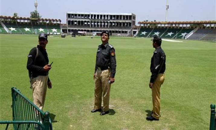 pakistan security officials rehearse for zimbabwe tour